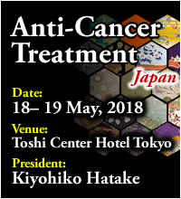 Anti-Cancer Treatment Japan | 18-20 May, 2018 Toshi Center Hotel Tokyo Japan